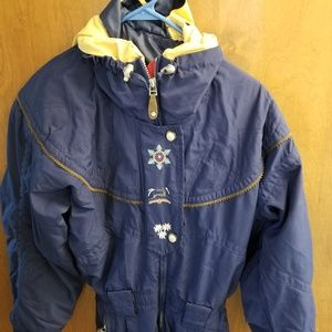 Womans vintage obermeyer snowsuit